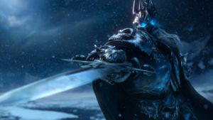 "The Lich King is a big fan of ""kill you and raise you again to fight your friends."""